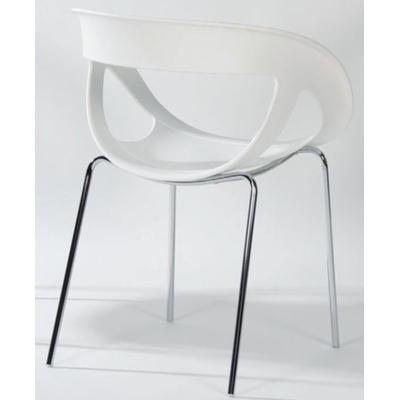 EDEN, fauteuil polypro empilable, usage extérieur ou intérieur, 3 coloris