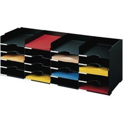 Classeur à cases, modèle 20 cases, gris