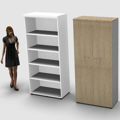 Armoire haute PRATIK, H200 x L90 cm