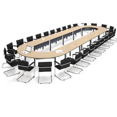 Table ovale MEETING-PRO, 28 personnes