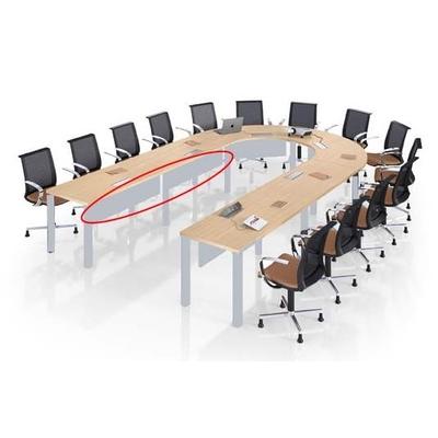 Voile de fond métallique MEETING-PRO (option)