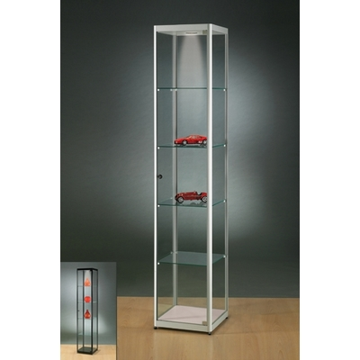 Vitrine VERA avec éclairage, L40 à 150cm