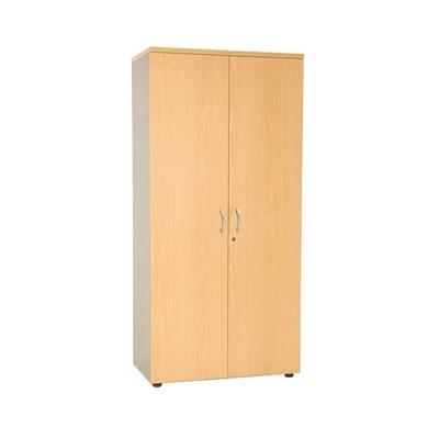 Armoire haute PRO, H180 cm. Avec ou sans portes, tablettes bois ou métal (pour DS)