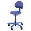 PICO-STAMSKIN, assise rembourrée, tapissée similicuir Stamskin de couleur assortie au piètement