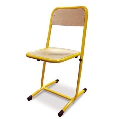 Chaise VERO, appui sur table : assise et dossier encastrés