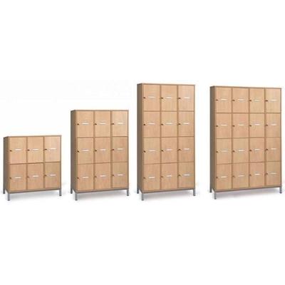 Meuble casier MORGANE pour élève, 6 à 16 cases.