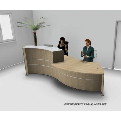 Banque forme petite vague PMR