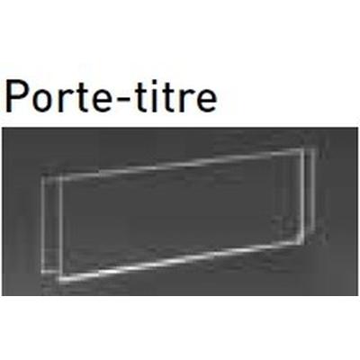 Porte titre plexi pour CABLEXPO