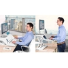 Station assis-debout LOTUS : alternez le travail assis et debout, même en télétravail