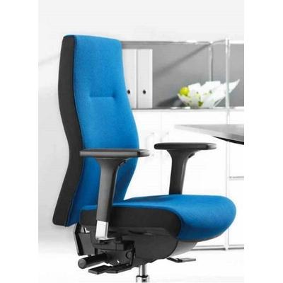 Détails de l'assise et du dossier : un profil ergonomique très efficace, un confort inégalable