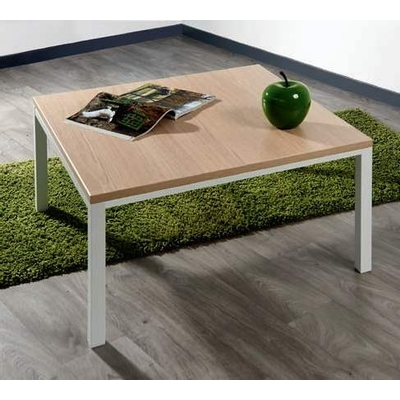 Table basse LOKI, plateau bois