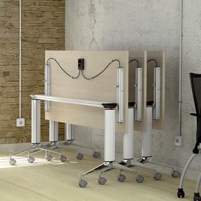 Table NET, plateau abattant