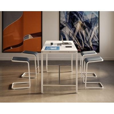 Table haute CREO2, pour des réunions rapides