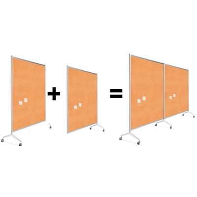 Conception d'une cloison : modèle DEPART + modèle SUIVANT