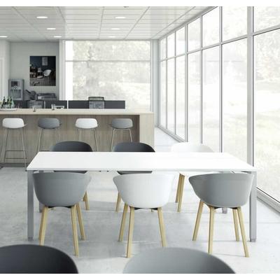 Chaise HIP-HOP, polypro, design. Pieds bois ou métal