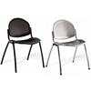 DIAMS, chaise métal coloris Alu ou Noir