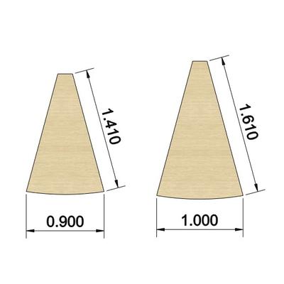 Table YOGI de liaison angle 30°