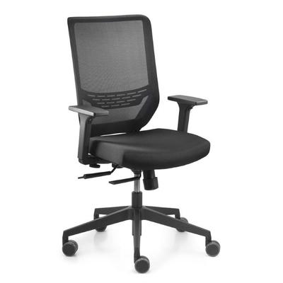 SYNC2-MESH, fauteuil ergonomique, dos résille noire, accoudoirs réglables