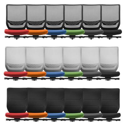 La housse d'assise est facilement amovible, et lavable en machine.