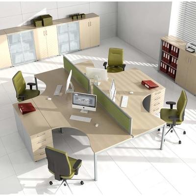 Ambiance, bureau compact YOGI-Y, retour sur caisson