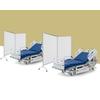 Une cloison de séparation également adaptée aux hôpitaux, centres de soins ou EHPAD pour les personnes à risque.