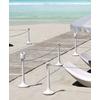 FLAMINGO : la distanciation à la plage, mais aussi à la piscine, terrasse de restaurant, etc.
