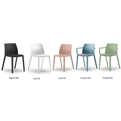 Chaise SOLEO, coloris Polypro
