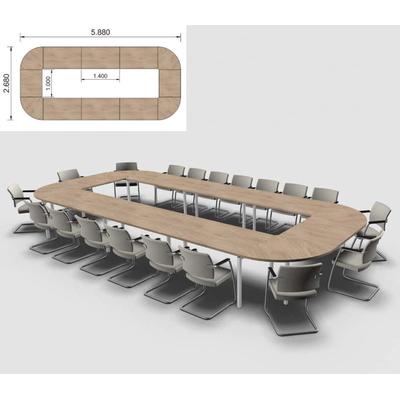 Table IDEA, 18 à 20 places