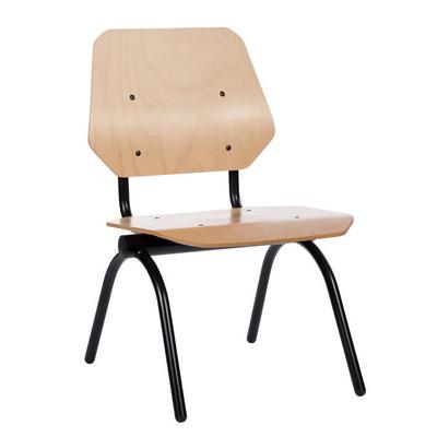 Chaise MAXX jusque 250 kg, modèle bois ou revêtu (tissu ou similicuir)