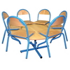 Chaise TOUCAN, appui sur table, en tailles 2-3