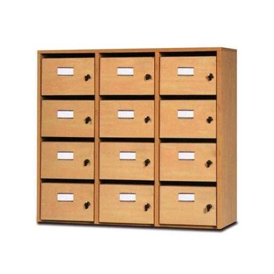 Meuble à courrier ARIANE, 8, 12 ou 16 cases