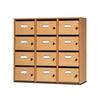 Meuble à courrier ARIANE, 12 cases