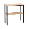 Socle haut pour meuble à courrier ARIANE, 8, 12 ou 16 cases (option)