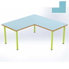 Table Maternelle FLEUR, forme Angle 90°